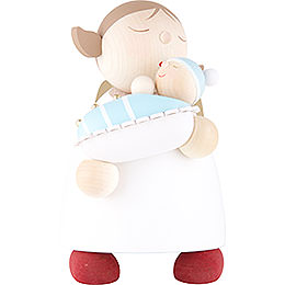 Guardian Angel with Baby Boy - 16 cm / 6.3 inch