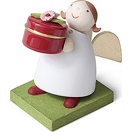 Guardian Angel with Gift Box - 3,5 cm / 1.4 inch