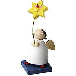 Guardian Angel with Star on Stick - 3,5 cm / 1.3 inch