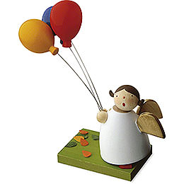 Guardian Angel with Three Balloons - 3,5 cm / 1.3 inch