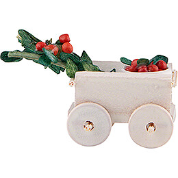 Hand Cart with Cherries - 2 cm / 0.8 inch