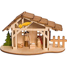 Handicraft Set - Nativity Stable - 10 cm / 3.9 inch