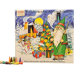 Knox Incense Cones Advent Calender - Motive 2016 - 24 cm / 9.4 inch