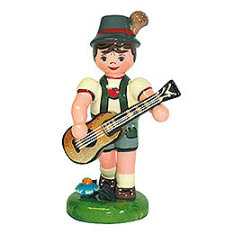 Lampion Child Boy with Guitar - 8 cm / 3 inch