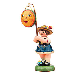 Lampion Girl with Moon Lampion- 8 cm / 3 inch