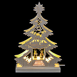 Light Triangle - Carol Singers - LED - 23.5x15.5x4.5 cm / 9.06x5.91x1.57 inch