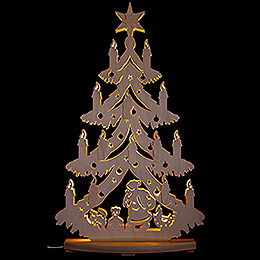 Light Triangle - Under the Christmas Tree - 38x72 cm / 15x28.3 inch