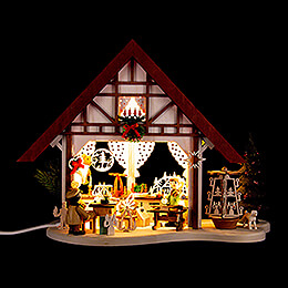 Lighted House - Pyramid Makers - 17 cm / 6.7 inch