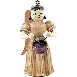 Long Pleated Skirt Angel with Drum, Natural - 6,6 cm / 2.6 inch