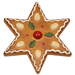 Magnetic Pin - Almond Star - 7 cm / 2.8 inch