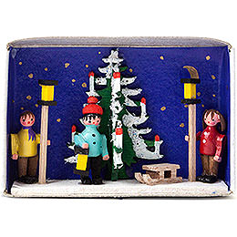 Matchbox - Advent - 4 cm / 1.6 inch