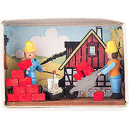 Matchbox - Bricklayer - 4 cm / 1.6 inch