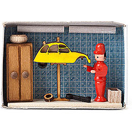 Matchbox - Car Repair Shop - 4 cm / 1.6 inch