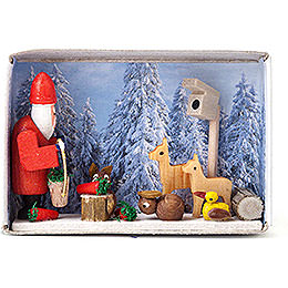 Matchbox - Christmas in the Winter Forest - 4 cm / 1.6 inch