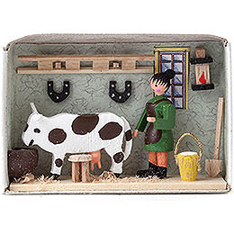 Matchbox - Cow Stable - 4 cm / 1.6 inch
