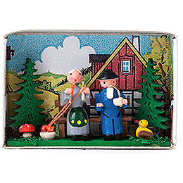 Matchbox - Grandparents - 4 cm / 1.6 inch