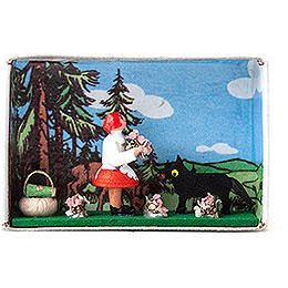 Matchbox - Red Riding Hood - 4 cm / 1.6 inch