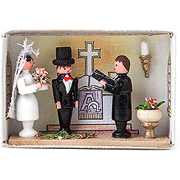 Matchbox - Wedding - 4 cm / 1.6 inch
