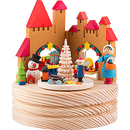 Music Box Christmas Market - 11,5 cm / 4.5 inch
