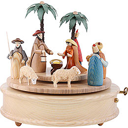 Music Box Crib Colourful - 23 cm / 9 inch