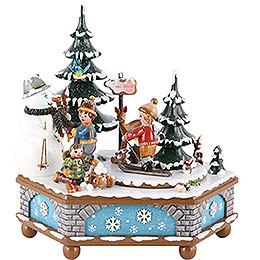 Music Box Wintertime - 20 cm / 8 inch