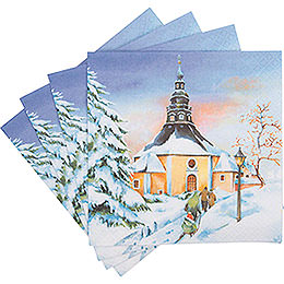 Napkins Sunset in Seiffen - 20 pcs.