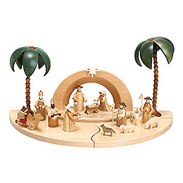 Nativity Set - Natural Colour