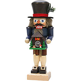 Nutcracker - Black Forester with Cuckoo Clock - 27,0 cm / 10.6 inch