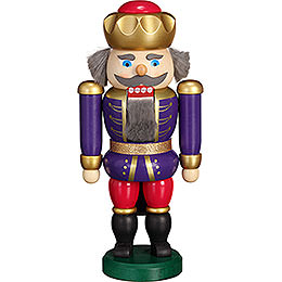 Nutcracker - Exclusive King Indigo-Raspberry - 20 cm / 7.9 inch