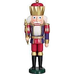 Nutcracker - Exclusive King Indigo-Raspberry - 40 cm / 15.7 inch