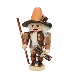Nutcracker - Forest Man Natural Colors - 17,0 cm / 7 inch