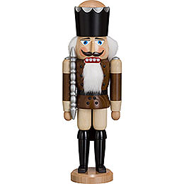 Nutcracker - King - Ash - Braun - 38 cm / 15 inch