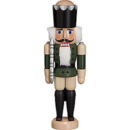 Nutcracker - King - Ash - Green - 29 cm / 11 inch