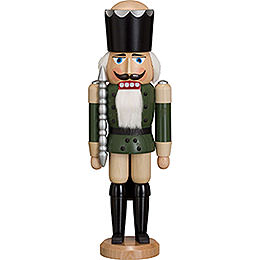 Nutcracker - King - Ash - Green - 38 cm / 15 inch