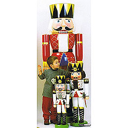 Nutcracker - King Red - 180 cm / 71 inch