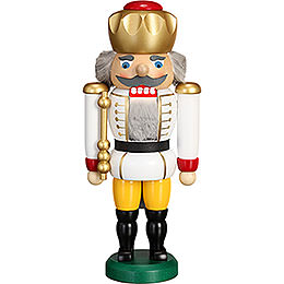 Nutcracker - King White - 25 cm / 9.8 inch