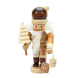 Nutcracker - Mini Santa Claus Natural Colors - 10,0 cm / 4 inch