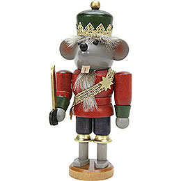 Nutcracker - Mouse King Glazed - 17 cm / 7 inch