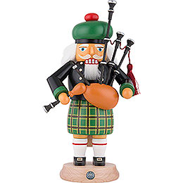 Nutcracker - Scotsman in Highland Costume with Bagpipe - 27 cm / 11 inch