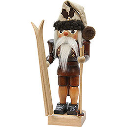 Nutcracker - Skier - Natural Colors - 25,5 cm / 10 inch