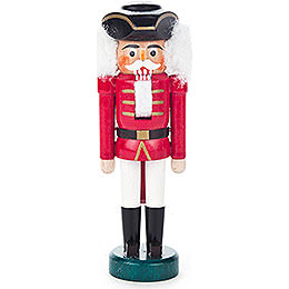 Nutcracker - with Tricorn Red-White - 13 cm / 5.1 inch