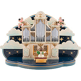 Organ for Hubrig Angel Orchestra with Music Box - 36x13x21 cm / 14x5x8 inch