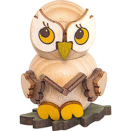 Owl Child with Book - 4 cm / 1.6 inch