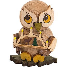 Owl Child with Candle Arch - 4 cm / 1.6 inch