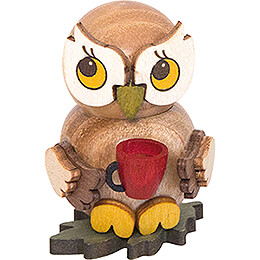 Owl Child with Cup - 4 cm / 1.6 inch