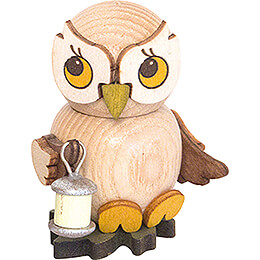 Owl Child with Lampion - 4 cm / 1.6 inch