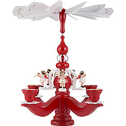 Pyramid Candle Holder - Angels - 46 cm / 18 inch