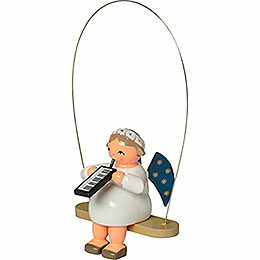 Rocking Angel with Melodica - 8 cm / 3.1 inch
