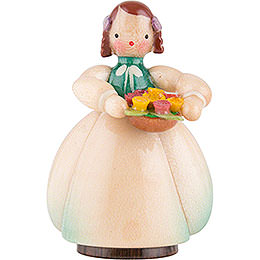 Schaarschmidt Flower Child with Flower Bowl - 4 cm / 1.6 inch