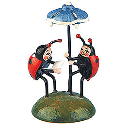 Set of Two- Ladybug Duet - 4,5 cm / 1,75 inch